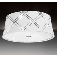 White ceiling light Corallo 40 2 bulb