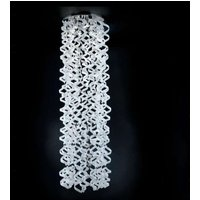 Pretty hanging light White  long