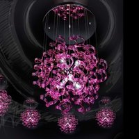 Exceptional hanging light Magenta