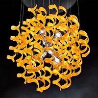 Contemporary hanging light Orange