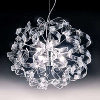 Glossy hanging light Crystal oval