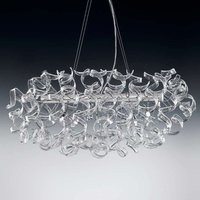 Transparent hanging light Crystal