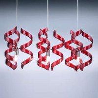 Striking hanging light Cherry 3 bulb
