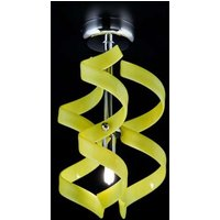 Thin ceiling light Yellow