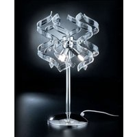 Unconventional table lamp Crystal