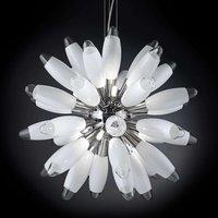Spherical hanging light Flo  55 cm