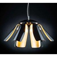Gold leaf designer hanging light Tropic