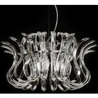 Glass hanging light Wave  50 cm diameter