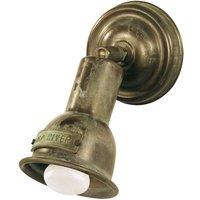 Pivotable wall light Spotisland  antique brass