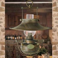 Antique hanging light Guadalupa