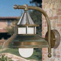 Outdoor wall light Antique  30 cm  antique copper