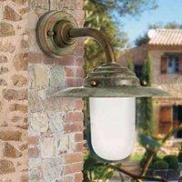Outdoor wall light Antique  26 cm  antique copper