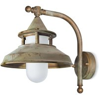 Outdoor wall light Antique  30 cm  antique brass