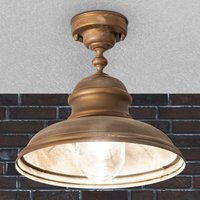 Riccardo ceiling light for outdoor use