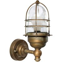 Small seawater resistant outdoor wall light Matteo