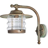 Seawater res  lantern outdoor wall light Adessora