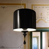 Elegant hanging light Eva S3 1  black