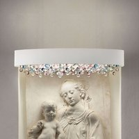 Artistic wall light Ola A2 OV70  cold white