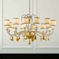 ANOUK cream coloured chandelier 115 cm