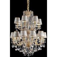 Marianna gold plate chandelier