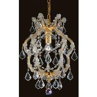 Deira shining crystal hanging light
