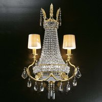 Valyria   enchanting crystal wall light