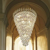 Ascana   splendid hanging light  Asfour crystals