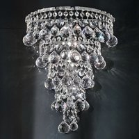 Ascana wall light with Asfour crystals