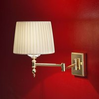 Grace classic wall light made of brass  48 cm