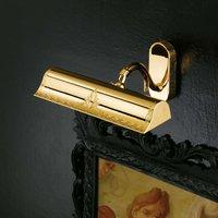 Lysanna glossy golden picture light