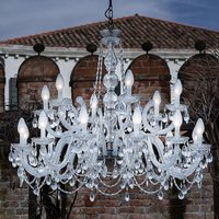 Drylight S18 18 bulb outdoor LED chandelier