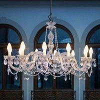 Drylight S12 12 bulb outdoor LED chandelier