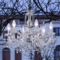 Drylight S6 6 bulb outdoor LED chandelier
