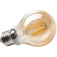 E27 4 W 820 LED filament bulb  gold