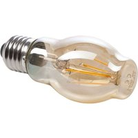 E27 6 W 820 LED filament bulb  gold