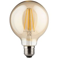 E27 8 W LED globe  gold  warm white  850 lumens