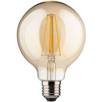 E27 8 W LED globe  gold  warm white  850 lumens
