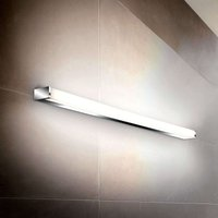 Linear LED wall light PARI  60 cm  chrome