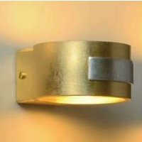 Gold coloured wall light SMALL