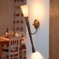 STELLA wall torch w  top and bottom illumination