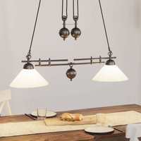 Menzel Anno 1900 variable hanging light  two bulb