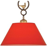 PROVENCE CHALET decorative hanging light in red
