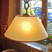 PROVENCE CHALET decorative hanging light in yellow