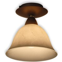 Pusta   ceiling light with scavo smoked glass