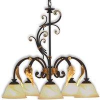 Florence Antique   ornate hanging light
