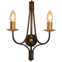 Opera   pretty wall light with candle holder look