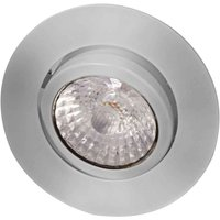 LED recessed light Rico 6 5 W brushed steel