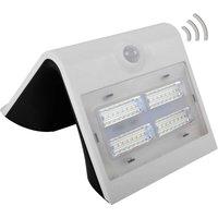 Wave M   LED solar wall light with a sensor  white