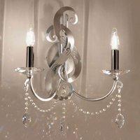 Glamorous wall light OPERA