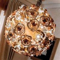 Artistic LED hanging light VIE EN ROSE